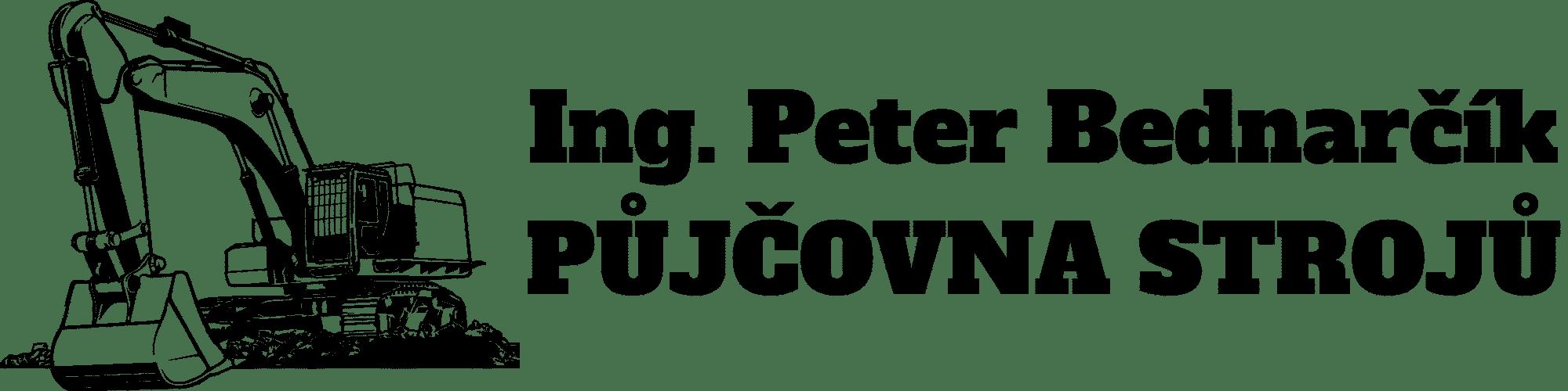 Peter Bednarčík, logo s nápisem